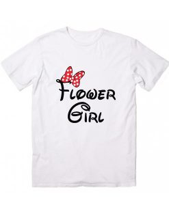 Flower Girl Disney T-Shirt