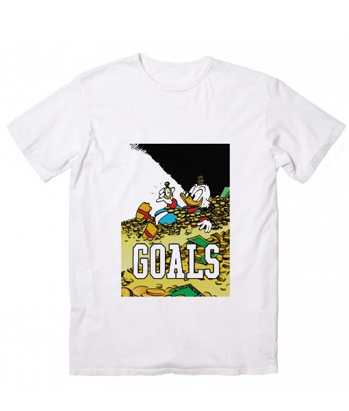 Scrooge McDuck Goals T-Shirt