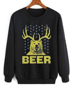 Beer Funny Bear Sweater