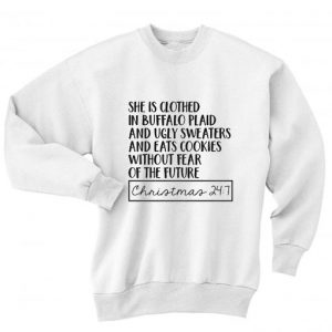 Christmas 24: 7 Bufflao Plaid and Leggings Sweater