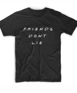 Friends Parody Logo Friends Don't Lie Stranger Things T-Shirt