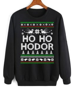 Game of Thrones Ho Ho Hodor Sweater