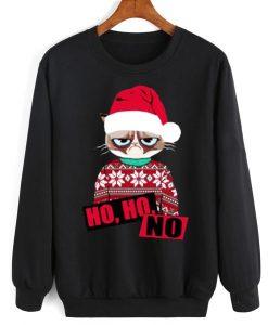 Ho Ho No Christmas Sweater