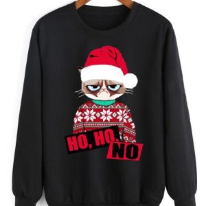 Ho Ho No Christmas Sweater