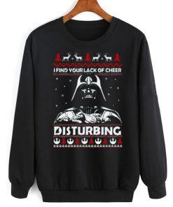 I Find Lack of Cheer Disturbing Sweater