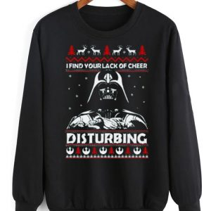 I Find Lack of Cheer Disturbing Sweater