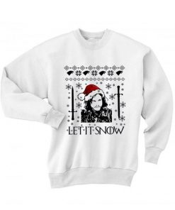 Let It Snow Game Of Thrones Sweater