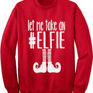 Let Me Take An Elfie Sweater