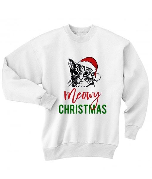Meowy Christmas Sweater.Meowy Christmas Xmas Sweater
