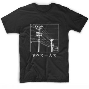 All Alone Japanese T-shirt