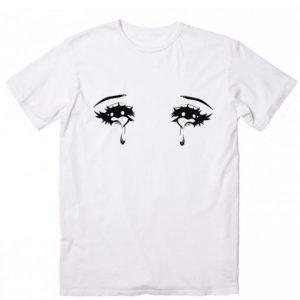 Anime Crying Eyes T-shirt