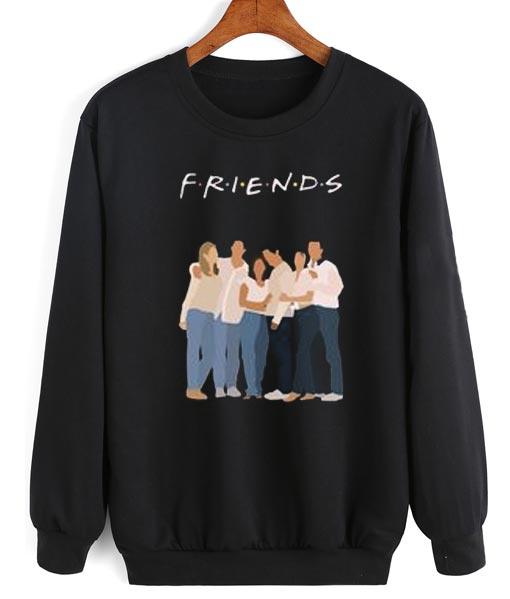 4a62d5aae14 Friends Sweatshirt TV Show Friends TV Show Sweater