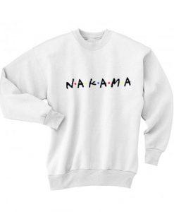 Nakama Friends TV Show Sweater
