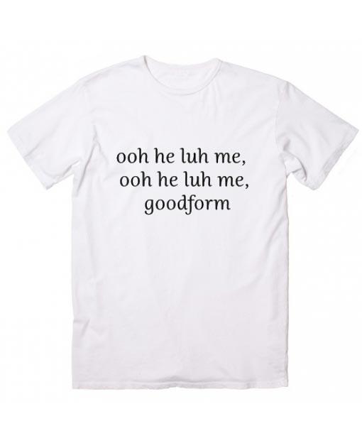 Nicki Minaj Lyrics T-shirt