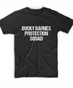 Bucky Barnes Protection Squad T-shirt