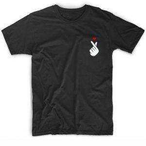 Korean Love Symbol Kpop BTS T-shirt