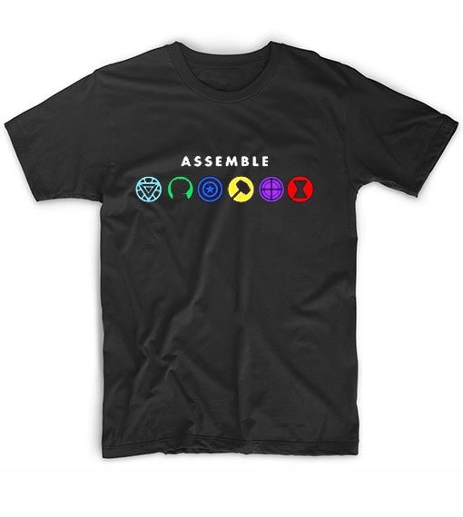 Assemble The Avengers T-Shirt