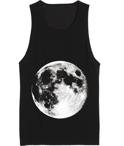 Full Moon Summer Tank top