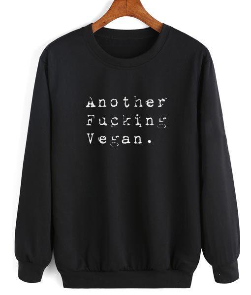 Another Fucking Vegan Sweater