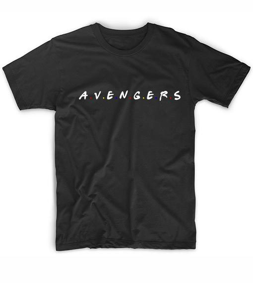 Avengers Friends Tv Show Quotes T-Shirt