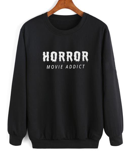 Horror Movie Addict Sweater