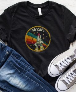 Nasa Vintage Colors T-shirt