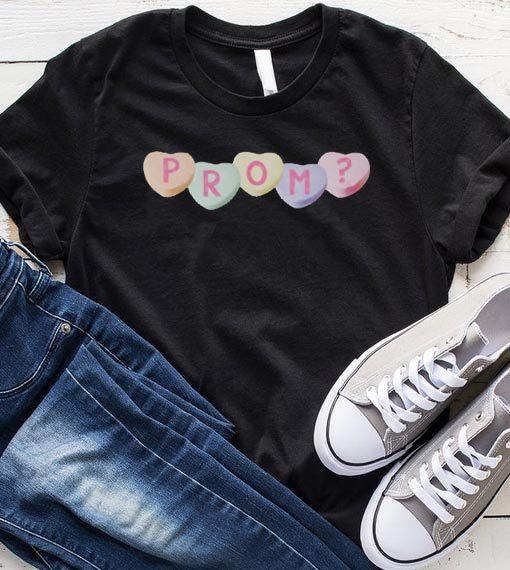 Hearts Prom Promposal Idea shirt
