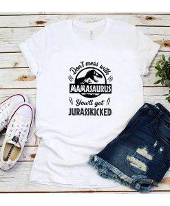 Jurassic Funny Mom T-shirt