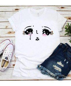 Kawaii Anime Girl Eyes T-shirt
