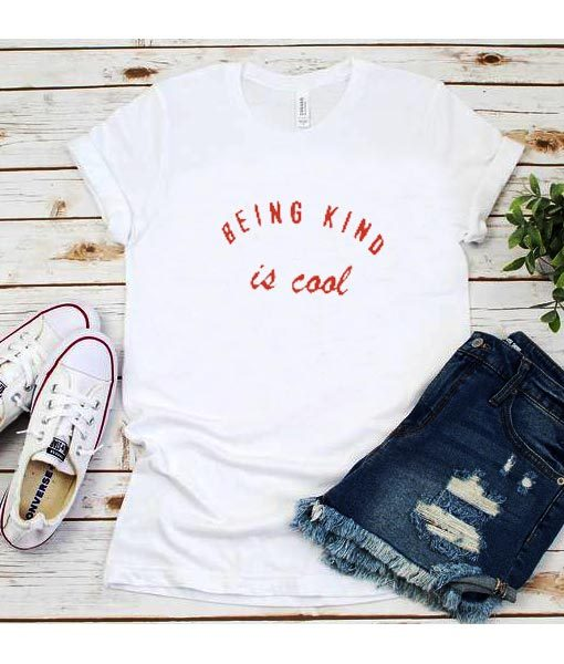 Being Kind Is Cool Red T-Shirt
