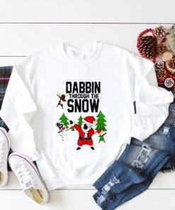 Dabbin Through The Snow Sweatshirt