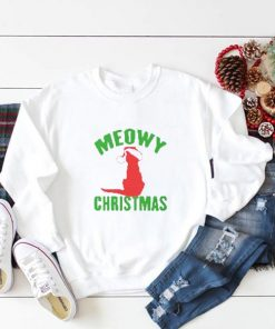 Meowy Merry Christmas Sweatshirt
