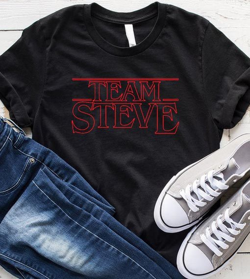 Stranger Things Team Steve T-Shirt