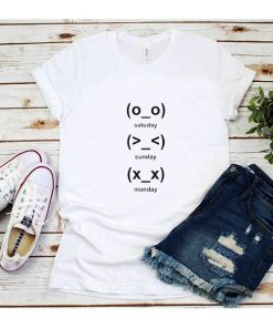 Cute Emoji Days T-Shirt