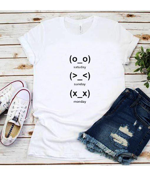 Cute Emoji Days T-Shirt