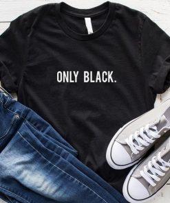 Only Black T-Shirt