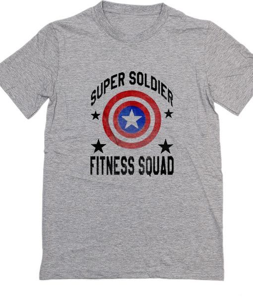 Super Soldier Fitness Squad T-Shirt