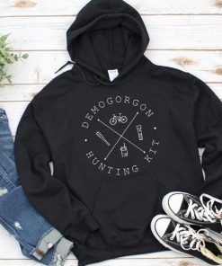 Demogorgon Hunting Kit Stranger Things Hoodie