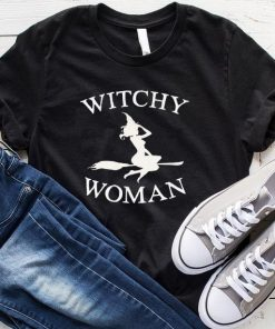 Witchy Woman Halloween T-Shirt