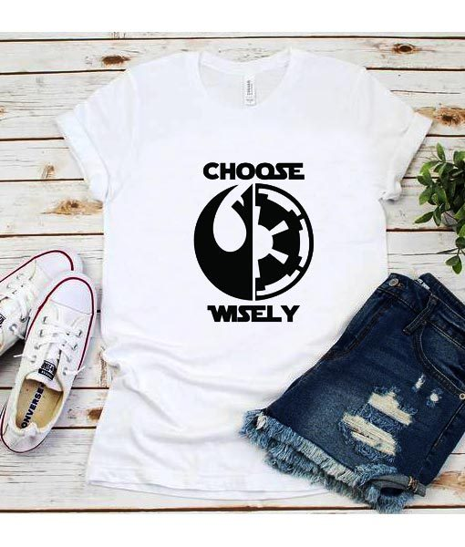 Choose Wisely Star Wars T-Shirt