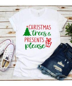 Christmas Trees & Presents Please T-Shirt