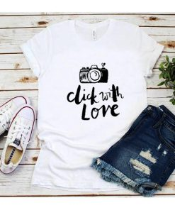 Click With Love T-Shirt