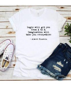 Albert Einstein Quotes T-Shirt