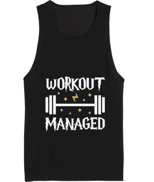Workout Managed Summer Tank top