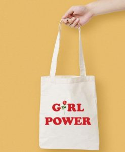 Girl Power Canvas Tote Bag
