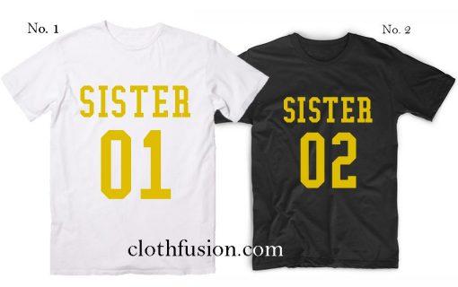 Sister Best Friends T-Shirt