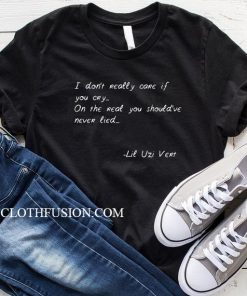Lil Uzi Quotes T-Shirt