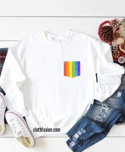 Rainbow Flag Pocket Sweatshirts