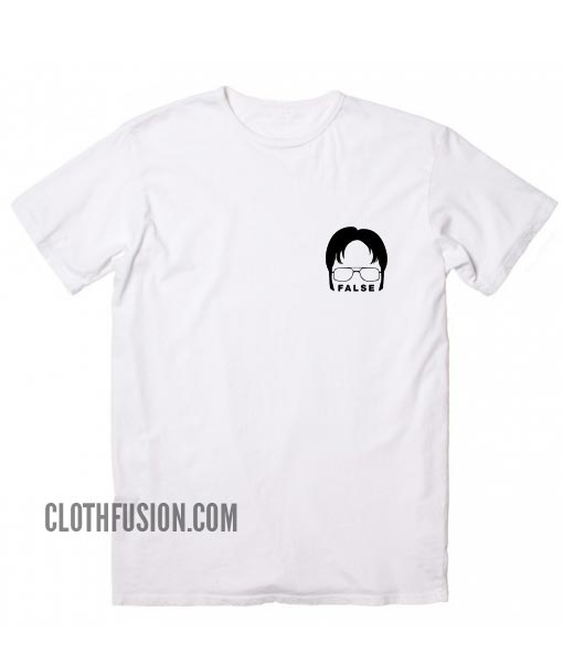 The Office T-shirt Dwight Schrute False T-Shirt
