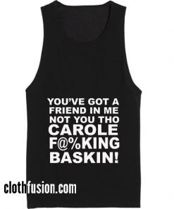 You Got A Friend in Me Summer Holiday Tank top